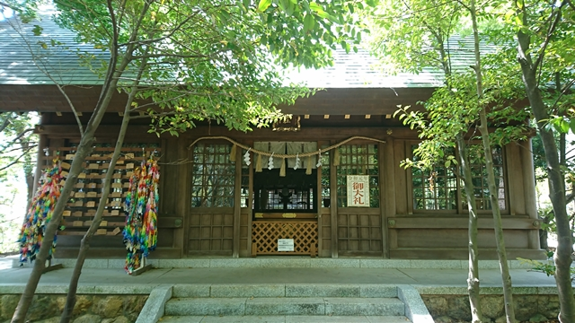 縣居神社 拝殿