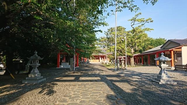浜松秋葉神社 参道