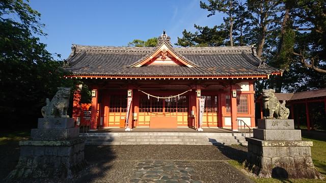 浜松秋葉神社 拝殿