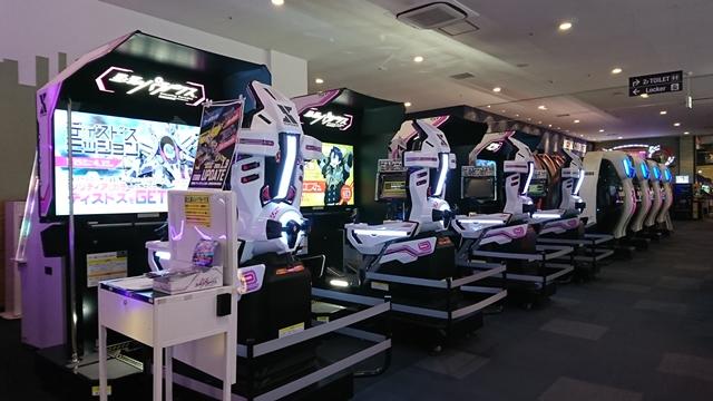 ラウンドワン浜松店 レーシングマシン