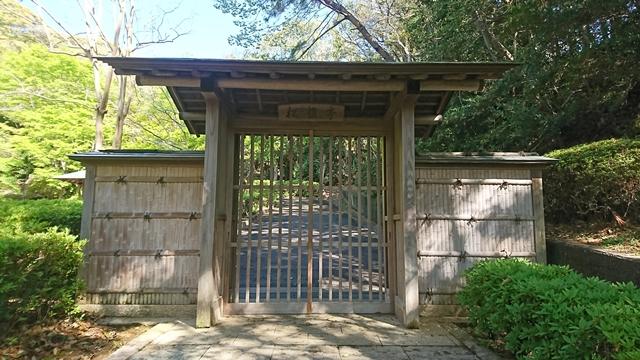 松韻亭 南側正門