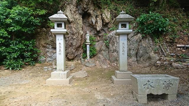 愛宕神社 観音像