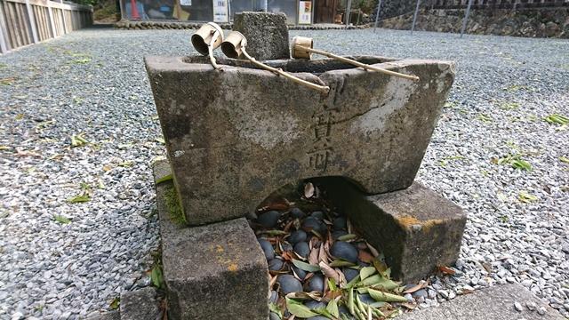 蜂前神社 手水舎