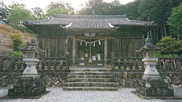 蜂前神社 本殿
