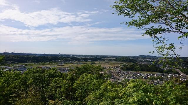 井伊谷城跡(城山公園)からの眺め