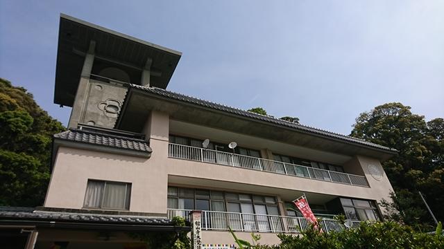 舘山寺の大梵鐘(つり鐘)