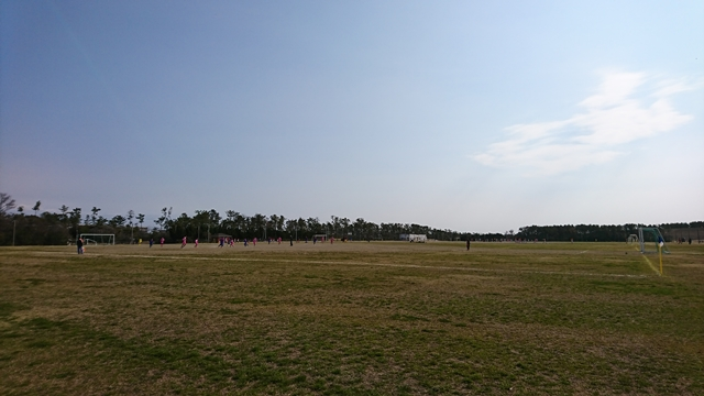 遠州灘海浜公園(白羽地区・凧場公園)球技場