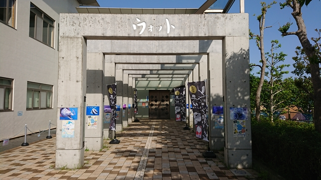 浜名湖体験学習施設ウォット(水族館)