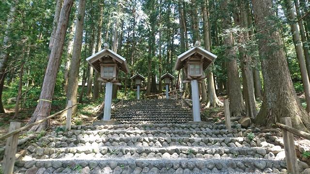 秋葉山本宮秋葉神社(下社)参道