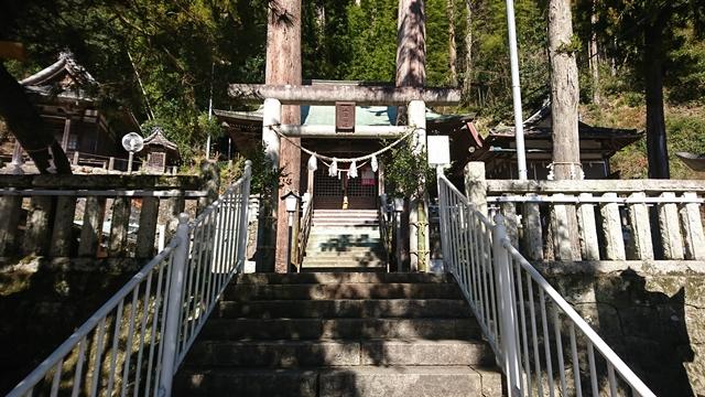二俣諏訪神社 鳥居
