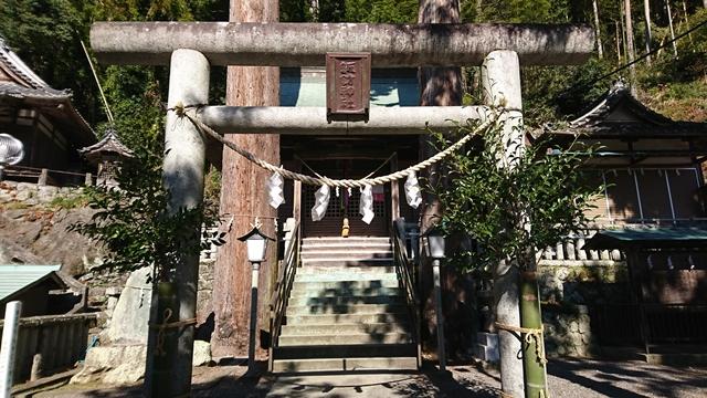 二俣諏訪神社 拝殿
