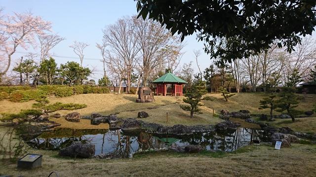 万葉の森公園 曲水庭園