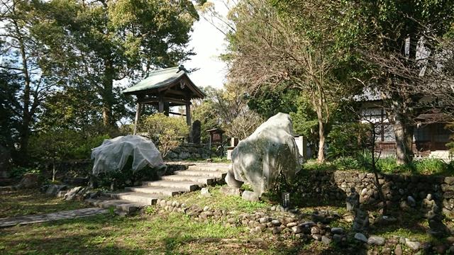 清瀧寺 中庭