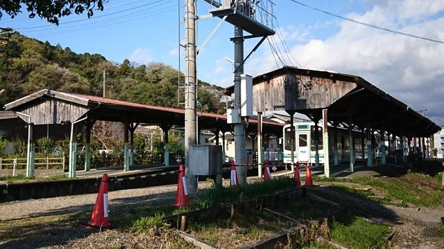 天竜浜名湖鉄道(天浜線)二俣駅