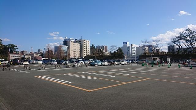 浜松城公園 駐車場