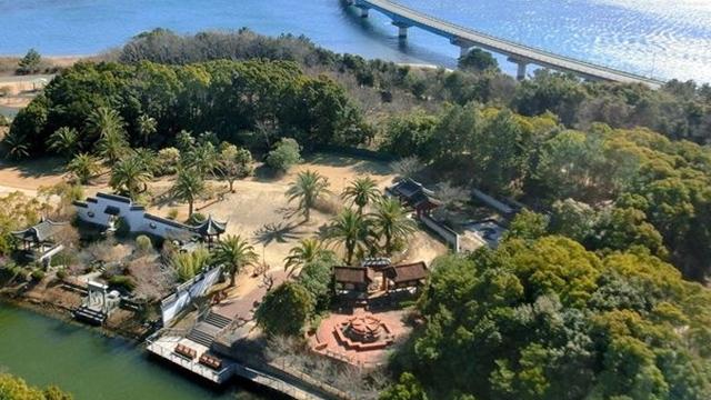 浜名湖ガーデンパーク 展望台からの景色