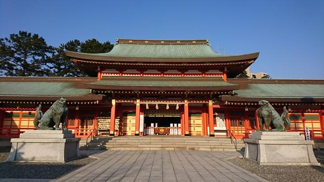 五社神社・諏訪神社 拝殿
