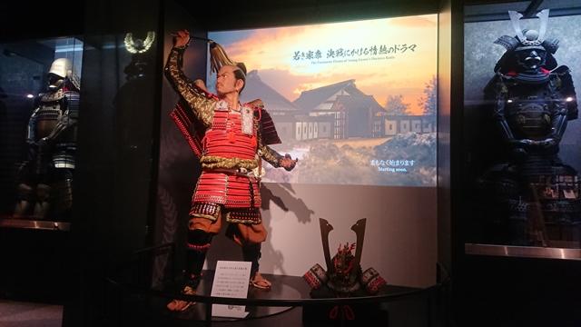 浜松城(城内展示)