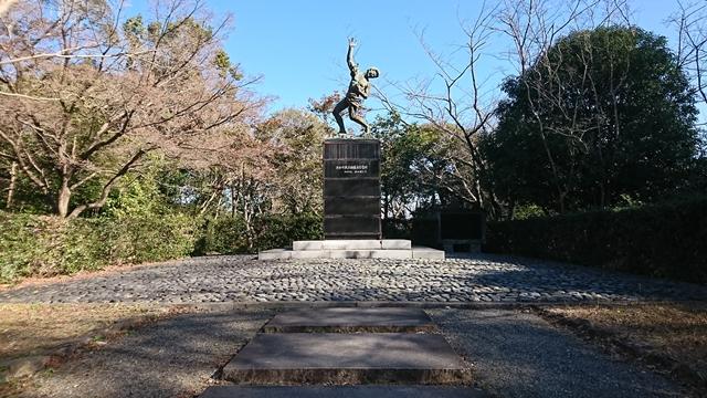 浜松城公園(戦災被爆者慰霊碑)