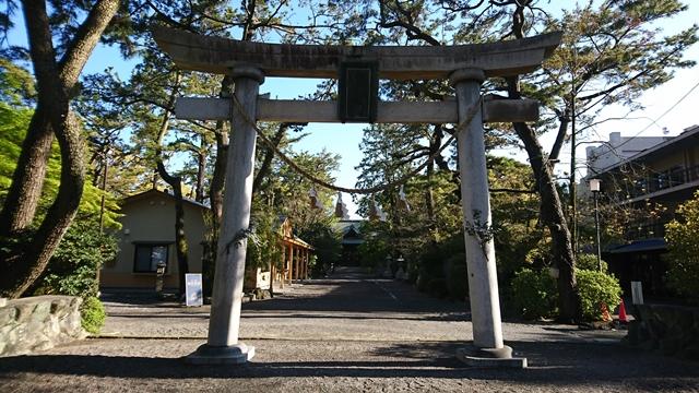 浜松八幡宮 鳥居