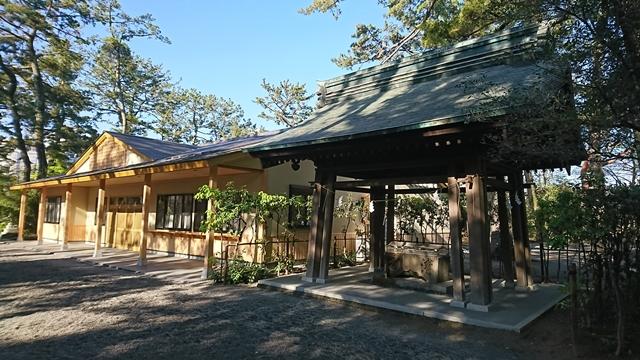 浜松八幡宮 手水舎