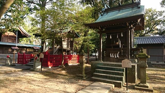 末社、浜松稲荷神社・摂社、東照宮