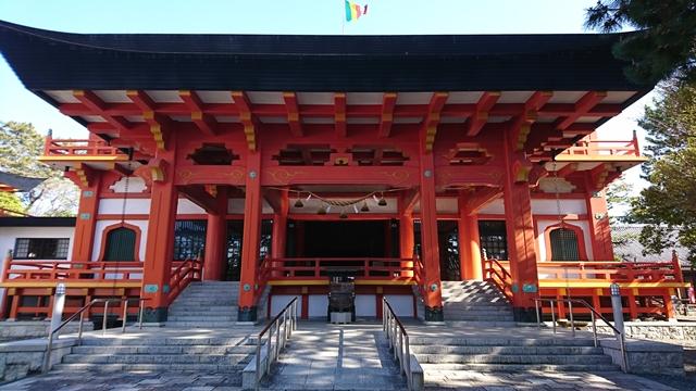鴨江寺(鴨江観音)拝殿