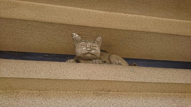 元城町東照宮(隠れ猫)