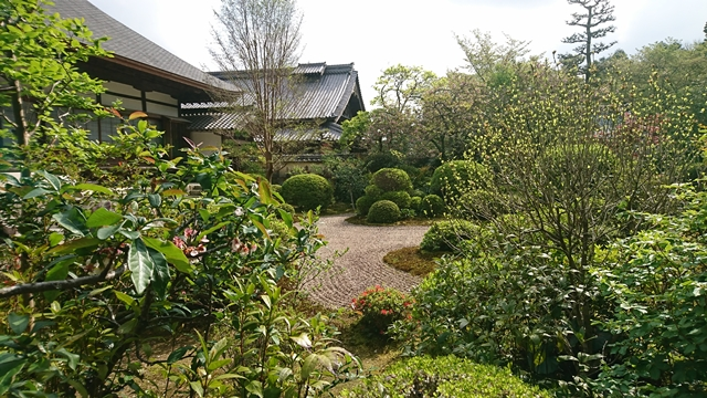 龍潭寺 枯山水庭園