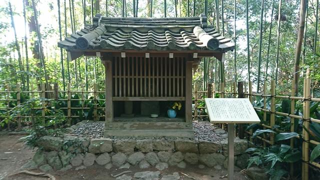 龍潭寺 梛(なぎ)の木と子育て地蔵