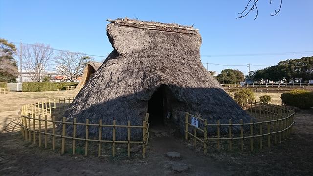 蜆塚遺跡 竪穴住居
