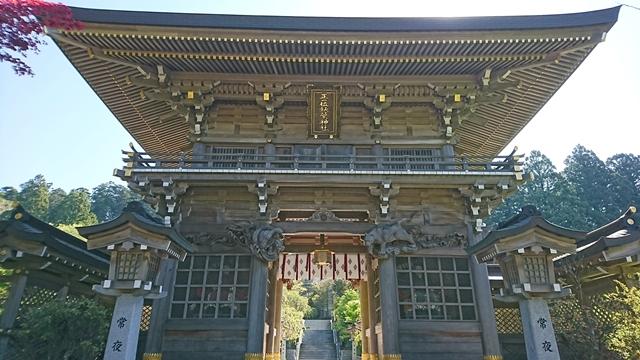 秋葉山本宮秋葉神社(上社)西ノ閽