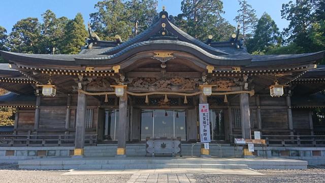 秋葉山本宮秋葉神社(上社)本殿