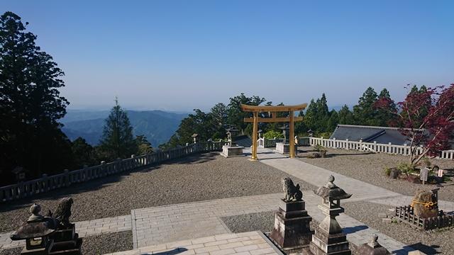 秋葉山本宮秋葉神社(上社)天空のお社