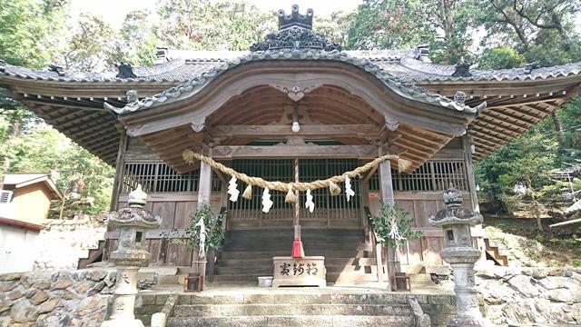渭伊神社 社殿