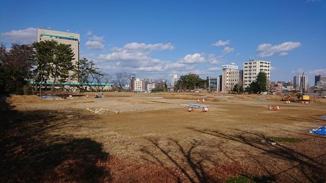 浜松城 二の丸 発掘調査